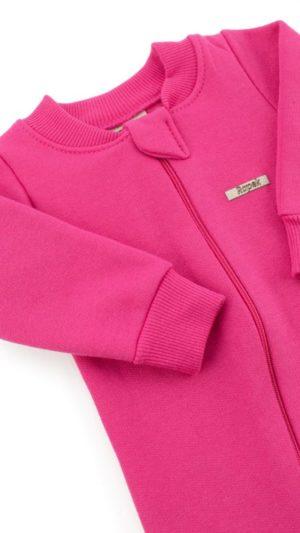 macacão moletom pink