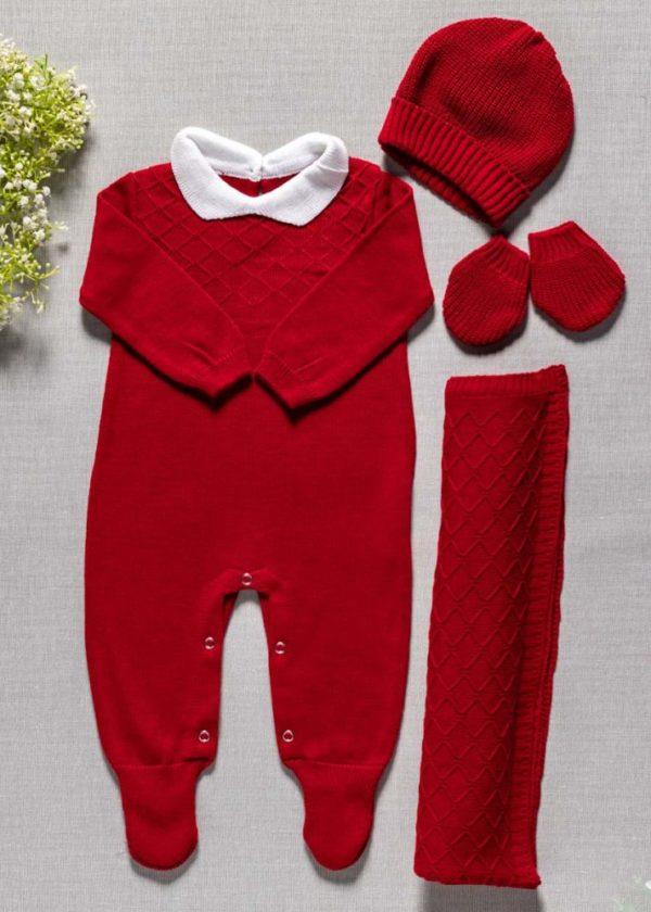 saida maternidade tricot